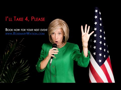 Rosemary Watson - Hillary Clinton Impersonator! Demo Reel