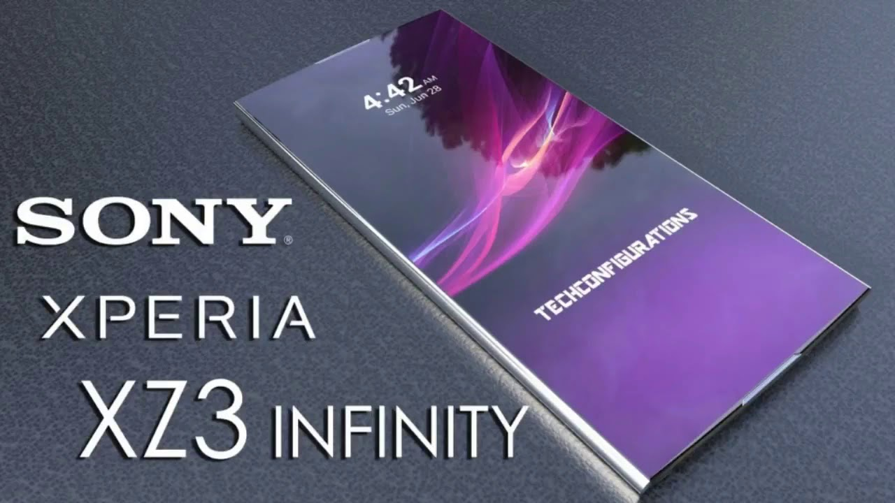 Sony Xperia XZ3 infinity official video | (Best smartphone 2018) - YouTube