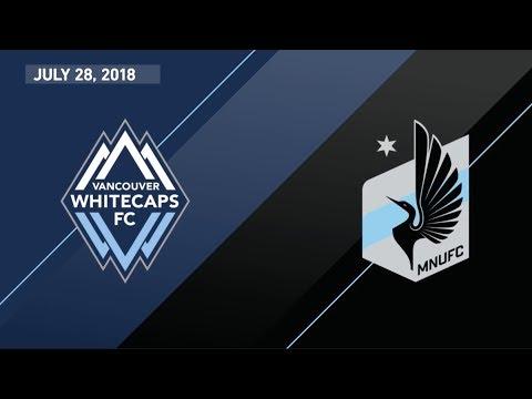 HIGHLIGHTS: Vancouver Whitecaps FC vs. Minnesota United FC   July 28, 2018
