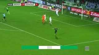Video Gol Pertandingan Werder Bremen vs Hannover 96