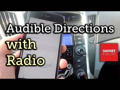 Make iPhone Navigation Prompts Play Over Your Car Speakers When