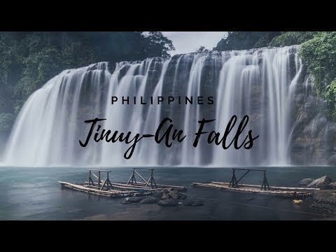 Tinuy an Falls - The Niagra Falls Of The Philippines