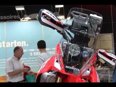 Honda CRF Rally Dakar  Details & Interview - Intermot