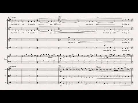 Lead, Kindly Light - SATB, Piano and Strings