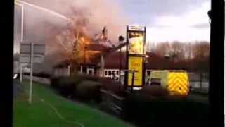 The Bridge Pub at Gamston on Fire 8/12/13 @ 15:07pm