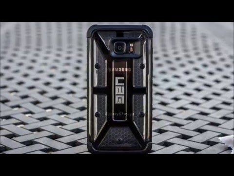 timeless design f8fcb 1c03e UAG Samsung Galaxy S7 Edge case Official Review !!