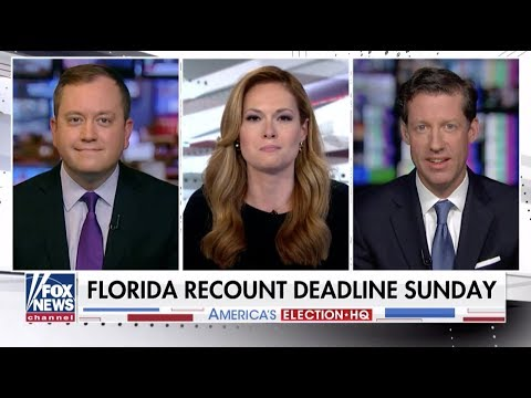 11.17.18 - Fox New's America's Newsroom: Gillian Turner with Alex Vogel and Kevin Walling