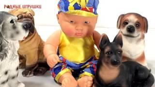 Детская кукла пупс Ленька 2   Артикул С 813
