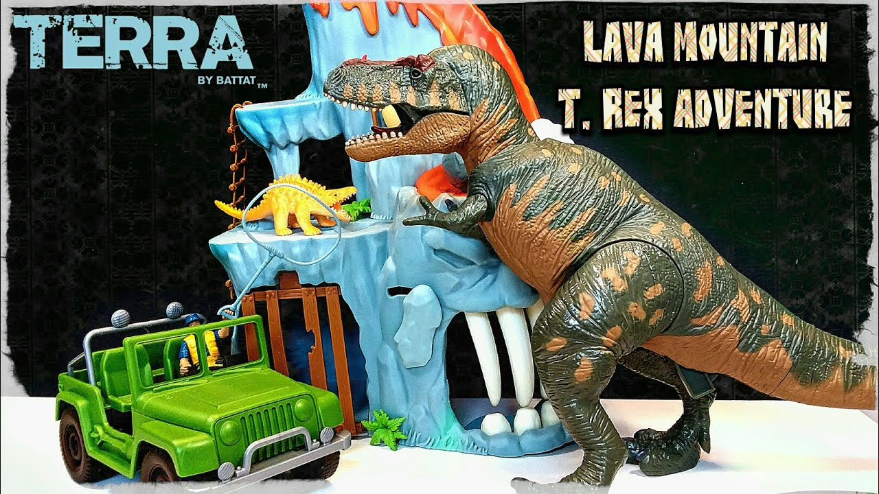 Terra by Battat Lava Mountain T. Rex Adventure Review!!!
