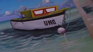 Boat Painting made in Grenada