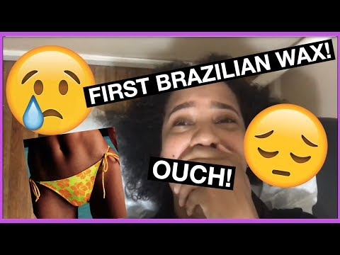 MY BRAZILIAN WAX VLOG 2