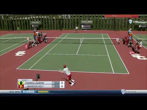 Men's Tennis: USC 5, Oregon 0 - Highlights 3/31/17