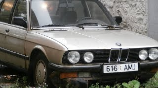 1986 BMW E28 524TD After 6 Years of Sitting