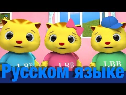 Три маленьких котёнка | детские песенки | Литл Бэйби Бум