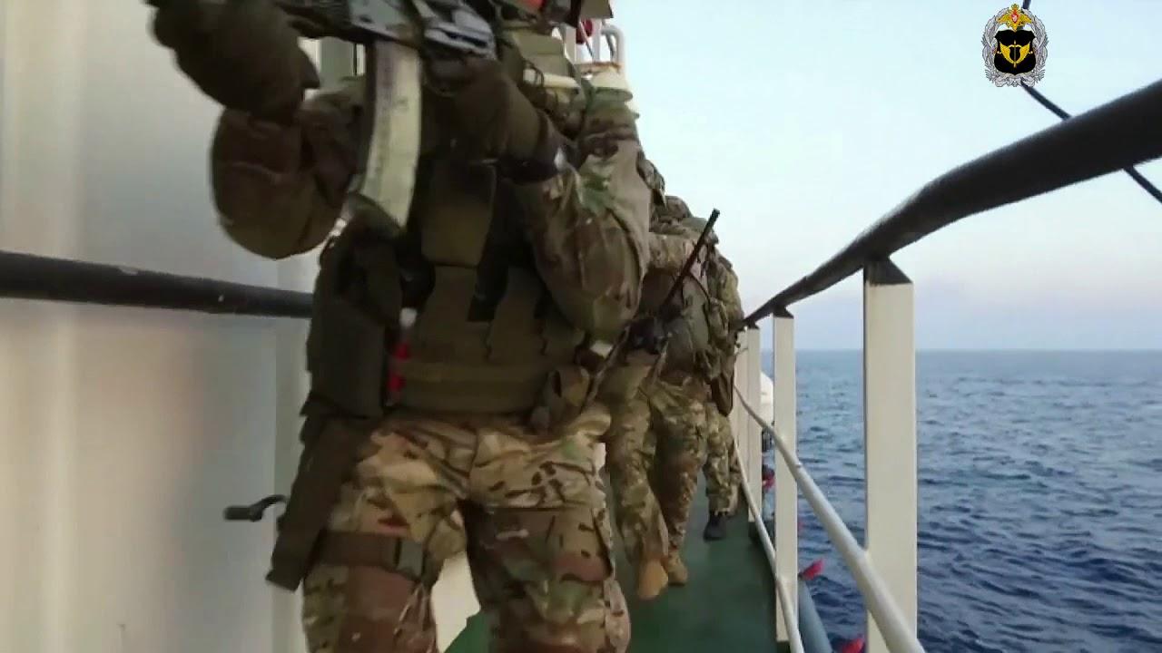 Учения Сил специальных операций ССО в Средиземном море