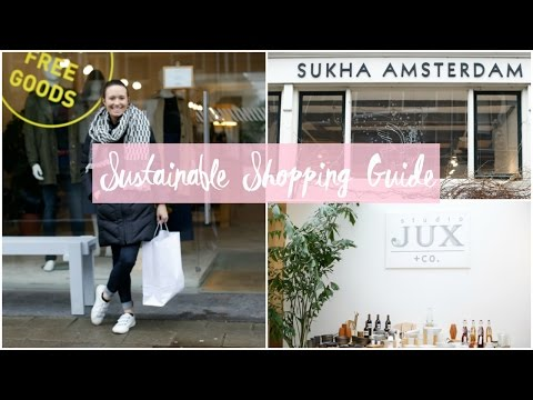 Sustainable Fashion Shopping Guide + Haul | Amsterdam | Always, Hunter