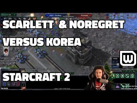 Winterstarcast - North America vs Korea (Scarlett/NoRegret v Korean GM)