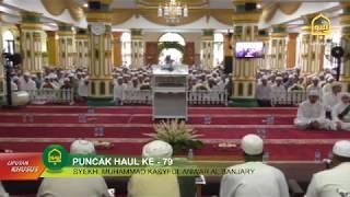 Haul Ke 79 Syekh Muhammad Kasyful Anwar Al Banjary
