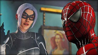 Black Cat Spider Man Ps4