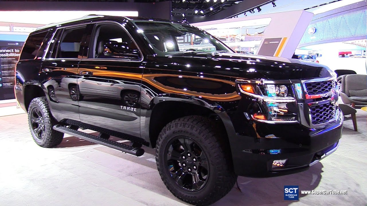 2017 Chevrolet Tahoe Z71 Midnight Edition - Exterior ...