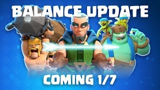 Clash Royale: Balance Update Live! (1/7)