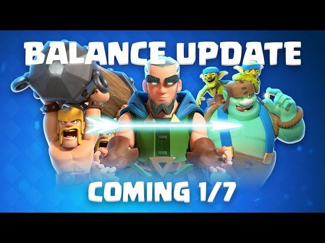 Clash Royale: Balance Update Live! (1/7)