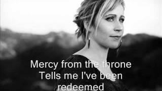 Mercy from the throne with lyrics - Lou Fellingham