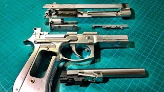 Tokyo Marui M9A1 Disassembly & Re-assembly Step By Step - Airsoft