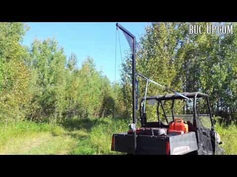 UTV Side by Side Deer Hoist by Buc-up.com