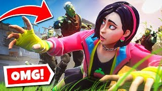 SURVIVE the ZOMBIE HORDE or ELSE! (Fortnite Infection Chapter 2)