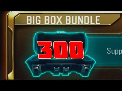 300 RARE SUPPLY DROPS... ($120 BIG BOX BUNDLES in Black Ops 3)