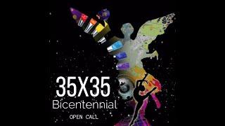 """Convocatoria """"35 x 35 Bicentennial"""""""