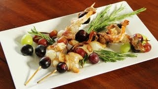 How To Make Grilled Antipasto Skewers