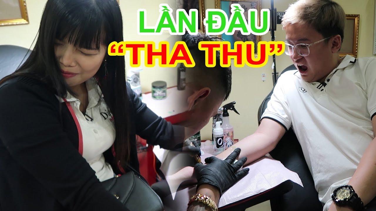 """Cảm giác khi lần ĐẦU TIÊN đi XĂM """"Tha Thu"""". Đau không? (Tattoo for the first time)   Lâm Gia Vlogs"""