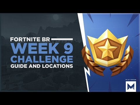 Fortnite Battle Royale: Season 3 Week 9 Challenge Guide And Locations