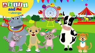 Akili Loves Animals!! | Compilations from Akili and Me | African Educational Cartoons