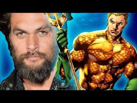 Jason Momoa Talks Aquaman & Justice League Movie