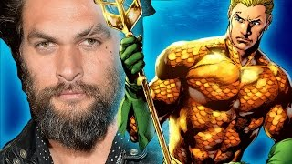 Jason Momoa Talks Aquaman & Justice League Movie