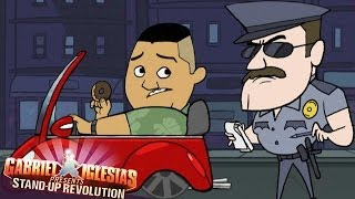 Cop & Donuts (Animated) - Gabriel Iglesias Presents: StandUp Revolution!