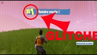 FORTNITE GLITCHE INVISIBLE TOP 1 LES HAIR OF FORTNITE !
