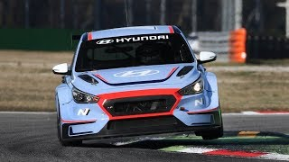 Hyundai i30 N TCR Sound In Action at Monza Circuit!