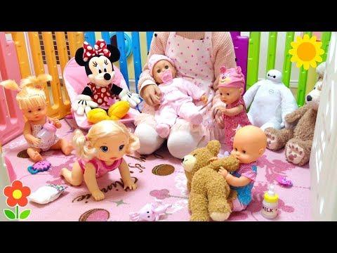 璧ゃ仭銈冦倱浜哄舰 銇汇亜銇忋亪銈� 鍏堢敓銇斻仯銇� 銇婁笘瑭� 姝(銇嶇法 / Baby Doll Nursery Care   Nenuco , Baby Born , Baby Alive