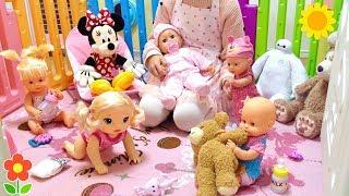 赤ちゃん人形 ほいくえん 先生ごっこ お世話 歯磨き編 / Baby Doll Nursery Care | Nenuco , Baby Born , Baby Alive thumbnail