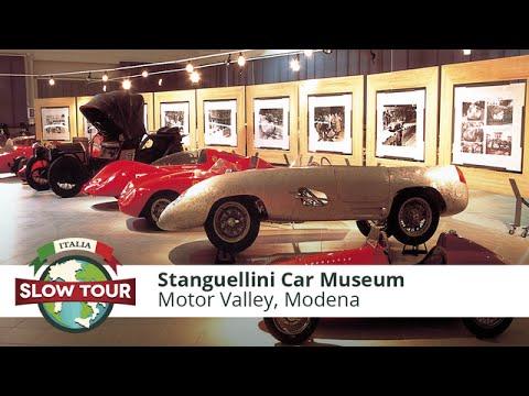 Vintage Car Passion: Stanguellini Car Museum In Modena   Italia Slow Tour  
