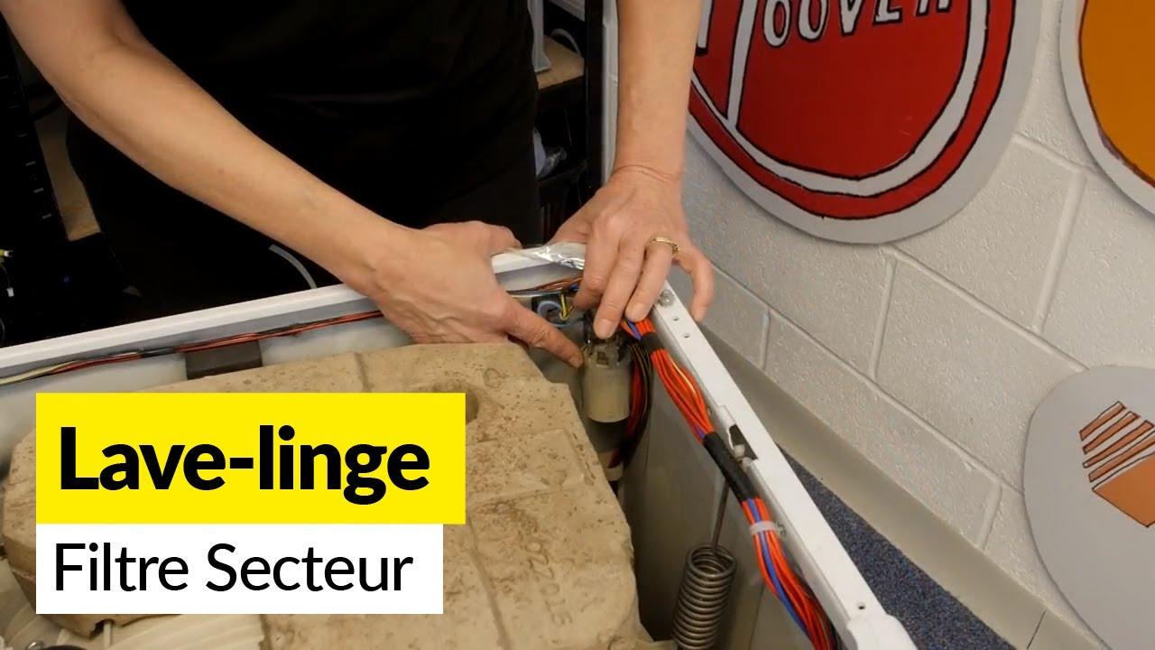 comment r parer le filtre secteur d 39 une machine laver youtube. Black Bedroom Furniture Sets. Home Design Ideas