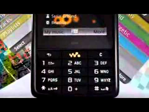 Sony Ericsson W960i - Demo Tour