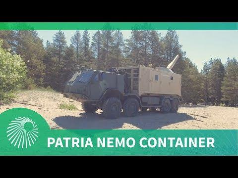 Patria's Nemo Container