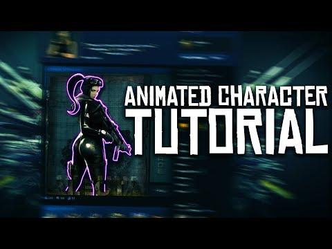 Animated Character/Static Image Animation Artwork Showcase Tutorial
