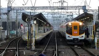 【名張駅で急行名張行きが快速急行大阪上本町行きに変身】