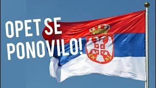 Ovo je problem sa Srbima